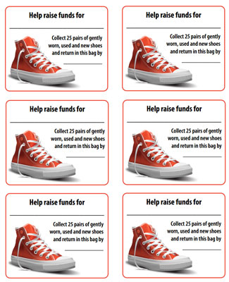 Grow Your Support With A Successful Shoe Drive Fundraiser