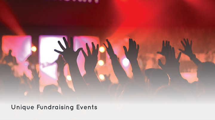 Check out our top unique fundraising event ideas.