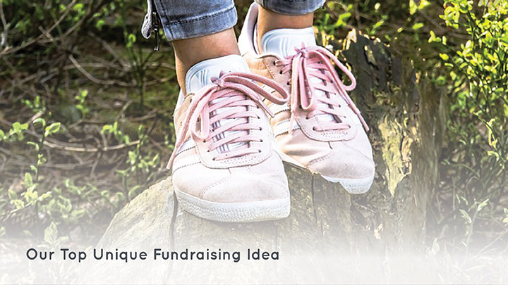 Check out our favorite unique fundraising idea: shoe drive fundraisers.
