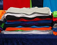 Selling t-shirts spreads your brand name while raising money