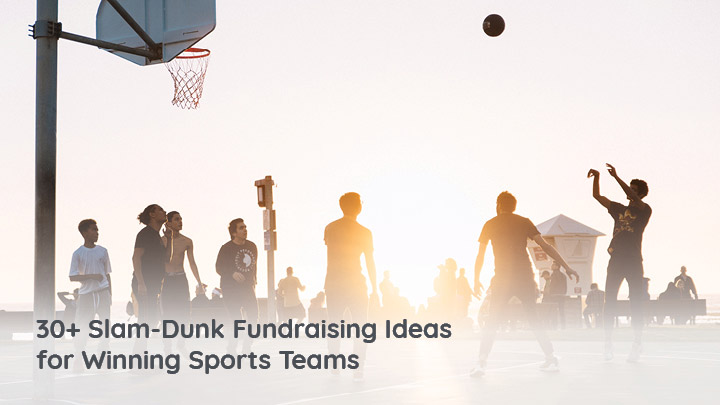 Find the perfect fundraiser for your sports team with our list of over thirty fantastic fundraising ideas.