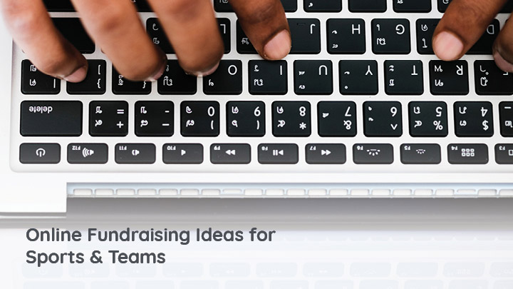 Encourage online giving with our list of online fundraising ideas for sports and teams.