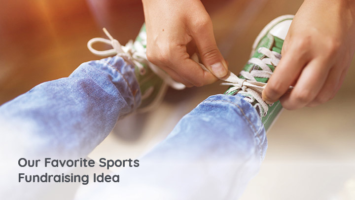 A shoe drive fundraiser is an easy and inexpensive fundraising idea for your sports team or league.