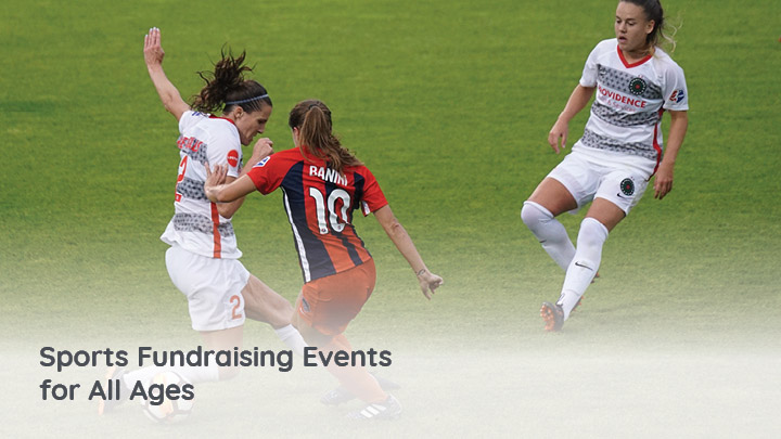 These sports fundraising ideas are ideal for teams and leagues with members of all ages.