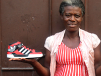 Micro entrepreneurs create micro-business opportunities for themselves in developing nations. One of the ways is to sell shoes collected during Barefoot Sundays.